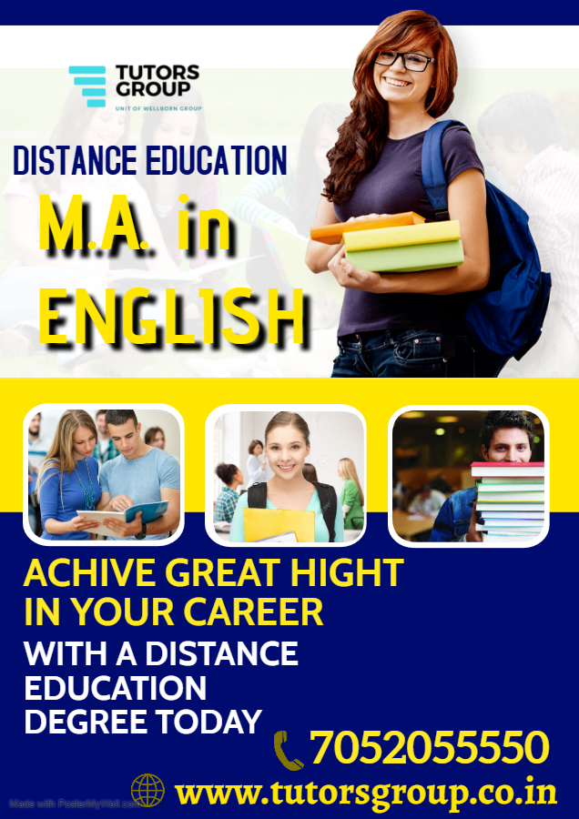 M.A. English Distance Education